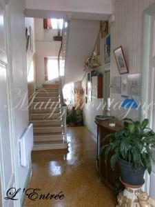 Chambres d'hôtes à la Bourboule - Matyzmontagne - entrée